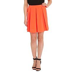 Madam Rage - Pink box pleat skirt