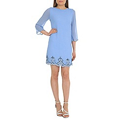 Alice & You - Blue embellished tunic dress