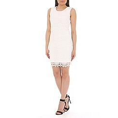 Pussycat London - White crochet bodycon dress