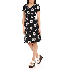 Poppy Lux - Navy rosemary lilly flower dress