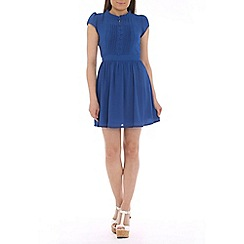Tenki - Blue chiffon day dress