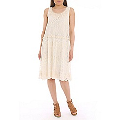 Tenki - Cream lace midi dress