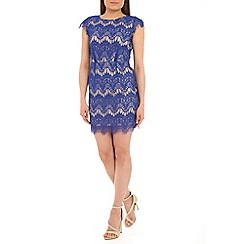 Alice & You - Blue scallop lace dress