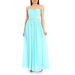 Alice & You - Royal embellished bandeau maxi