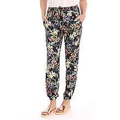 Voulez Vous - Multicoloured tropical floral trousers