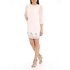 Alice & You - White embellished tunic dress