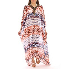 Alice & You - White beaded maxi kaftan