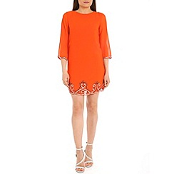 Alice & You - Orange embellished tunic dress