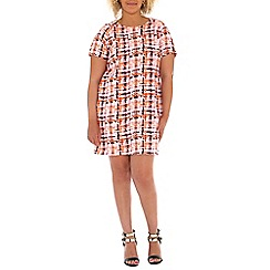 Samya - Multicoloured samya short sleeve check printed