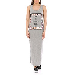 Damned Delux - Grey maxi tank dress