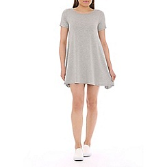 Damned Delux - Grey swing dress