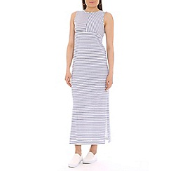 Damned Delux - Blue nautical breton striped dress