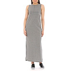 Damned Delux - Black nautical breton striped dress