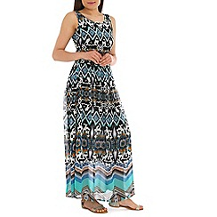 Alice & You - Multi-coloured belted maxi dress