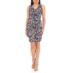 Sugarhill Boutique - Navy floral pencil dress