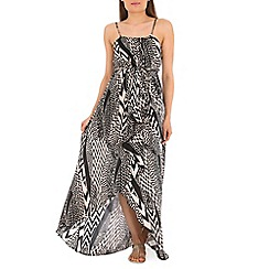 Izabel London - Multi-coloured aztec pattern dress