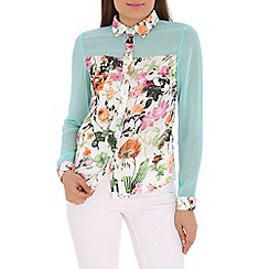 AS by Anna Smith - Multi-coloured floral print shirt