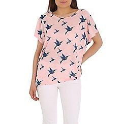 Mandi - Pink printed top