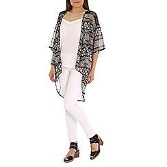 Mandi - Black Aztec kimono