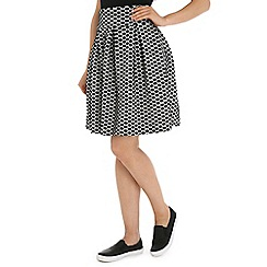 Indulgence - Black dot skirt