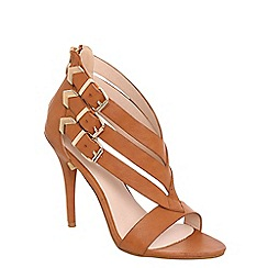 Alice & You - Tan strappy heeled sandal