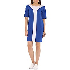Damned Delux - Blue stripe shift dress