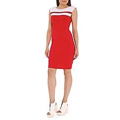 Damned Delux - Red Lottie midi dress
