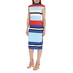 Damned Delux - Multicoloured mia midi dress