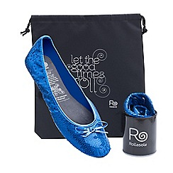 Rollasole - Blue disco ball blue