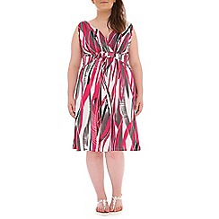 Samya - Pink printed dress