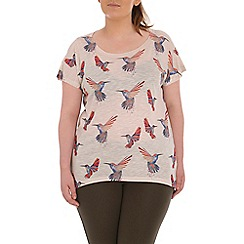 Samya - Natural printed top
