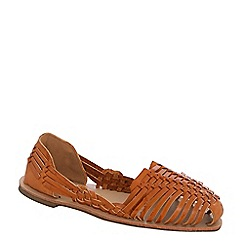 Alice & You - Tan woven strap sandals