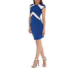 Indulgence - Blue bodycon dress