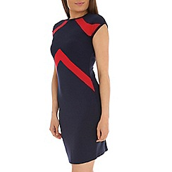 Indulgence - Navy bodycon dress