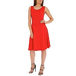 Indulgence - Red skater dress