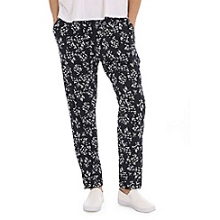 Indulgence - Navy floral trousers