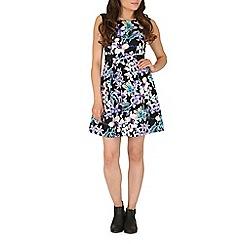 Mandi - Multicoloured sleeveless multi coloured dress