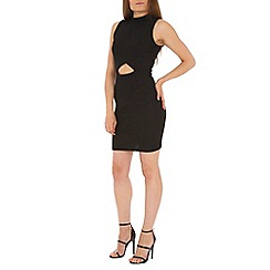 Madam Rage - Black cut out bodycon dress