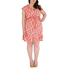 Samya - Rose flower printed dress