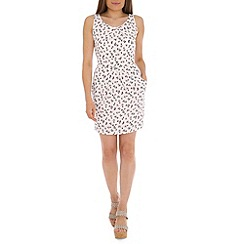Tenki - White flower print dress