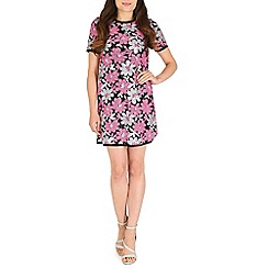 RubyRay - Pink flower t-shirt dress