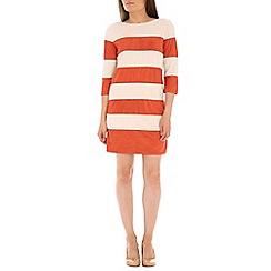 Izabel London - Natural polyester  shift dress
