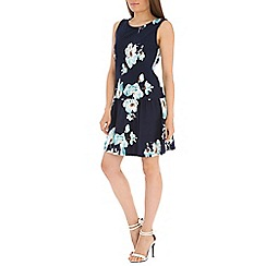 Indulgence - Navy floral dress