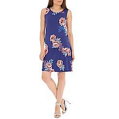 Indulgence - Blue floral dress