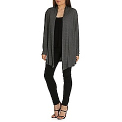 Indulgence - Grey textured cardigan