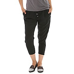 Ballentina - Grey elasticated waist trouser