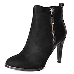 Alice & You - Black stiletto ankle boot