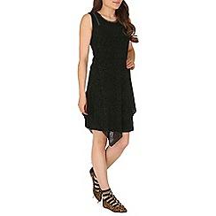 Izabel London - Black overlayed tunic dress