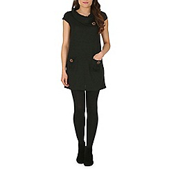 Izabel London - Black knit tunic