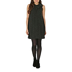 Tenki - Grey bow insert jumper dress